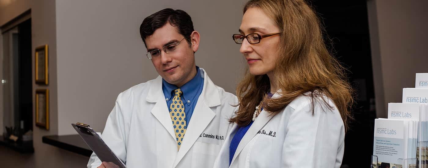 Drs. Bis and Cummins